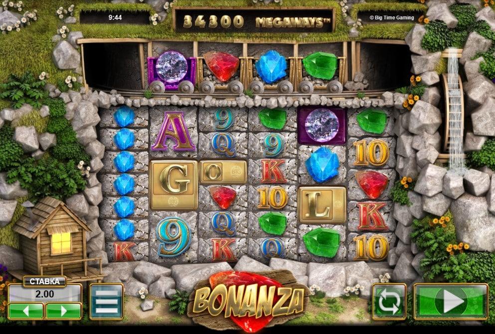 Характеристики игрового автомата Bonanza